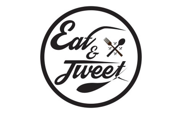 Eat and tweet logo